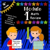 Engage NY 4th Grade Module 1 Review Pack - Place Value, Ad