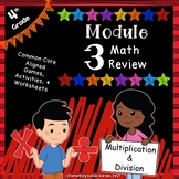Engage NY 4th Grade Module 3 Review Pack - Multiplication