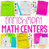 Enrichment Math Centers