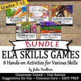ELA Review Games Activities -Vocabulary, Poetry, Grammar,