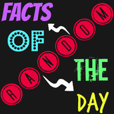 Entire Year of Random Facts of the Day