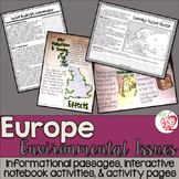 Social Studies European Geography: Environmental Issues