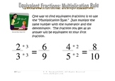 Equivalent Fractions Study Sheet