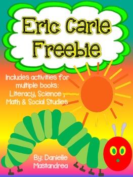 Eric Carle Unit {FREEBIE}