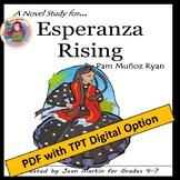 Esperanza Rising, by Pam Munoz Ryan: A Novel Study