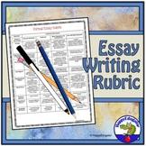 Essay Rubric - for a Formal Essay