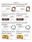 Estimating Products ~ Multiplying Decimals ~ Real World