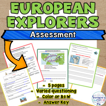 European Explorers Quiz