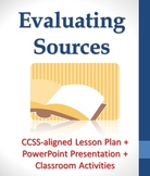 Evaluating Sources for Credibility Lesson Plan + PowerPoin