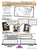 Events Leading to Civil War Graphic Organizer or Worksheet