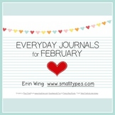 Everyday Journals for February
