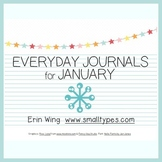 Everyday Journals for January