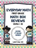 Everyday Math: ENTIRE SERIES of First Grade Math Box Reviews