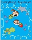 Everything Aquarium MEGA PACK - Math and Literacy Skills f