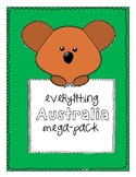 Everything Australia Mega Pack - Australia Math and Litera