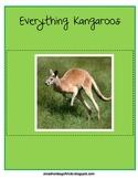Everything Kangaroos - Math and Literacy Skills for k-3 &