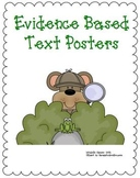 Evidence Based Text Posters