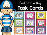 """I Can Have an Excellent Ending to my Day!"" Routine Task Cards"