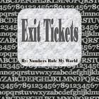 Exit Tickets - Know What Students Do & Don't Understand