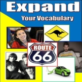 Full Year, Expand Your Vocabulary, ENTIRE YEAR! 12 unit BU