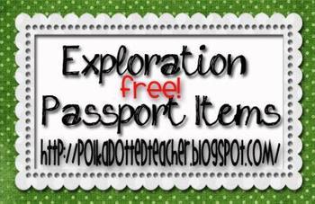 Exploration Passport Items