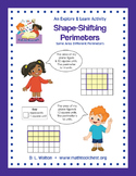 Explore & Learn 3rd Grade Area & Perimeter Standards: Shap