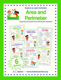 Explore and Learn 3rd Grade Area and Perimeter Standards