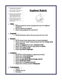 Explorer Biographical Sketch Rubric