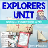 Explorers Unit with Information Text, Activities and Printables