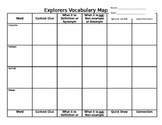 Explorers Vocab Map (editable)