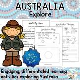 Exploring Australia Mini Activity Pack