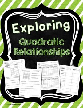 Quadratic Relationship Exploration Activity