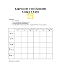 Exponents Dice Game