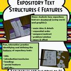 Expository Structures and Features (2 Foldables)