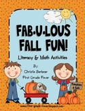 FAB-U-LOUS FALL FUN!  Literacy & Math Centers