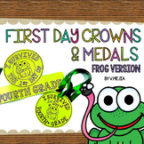 FIRST DAY CROWNS AND MEDALS FROG VERSION