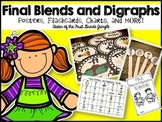 FInal Blends and Digraphs: Posters, Flashcards, Charts, and MORE!