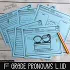 FLASH FREEBIE: Personal, Possessive & Indefinite Pronouns