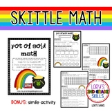FOOD MATH - Skittle Math - Pot of Gold