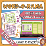 FREE Boggle Template - Make a New Game Every Time!