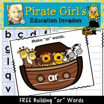 "FREE Building Noah's ""AR""K (Making Words Activity)"