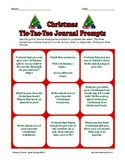 FREE Christmas and Hanukkah Tic-Tac-Toe Journal Prompts