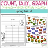 FREE Count, Tally, Graph! - Spring