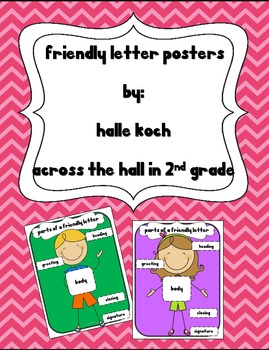 {FREE} Friendly Letter Posters