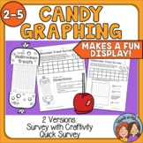 FREE Halloween Treats Survey and Bar Graph Activity