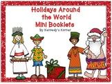 FREE Holidays Around the World Mini Booklets