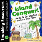 FREE Island Conquer Area and Perimeter