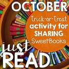 FREE {Just Read} October: Trick-or-Treating for Sweet Book