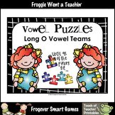 FREE Literacy Center--Vowel Puzzles Long O Vowel Teams (OA