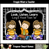 FREE Literacy Resource--Look,Listen,Learn 4 Additional Vow